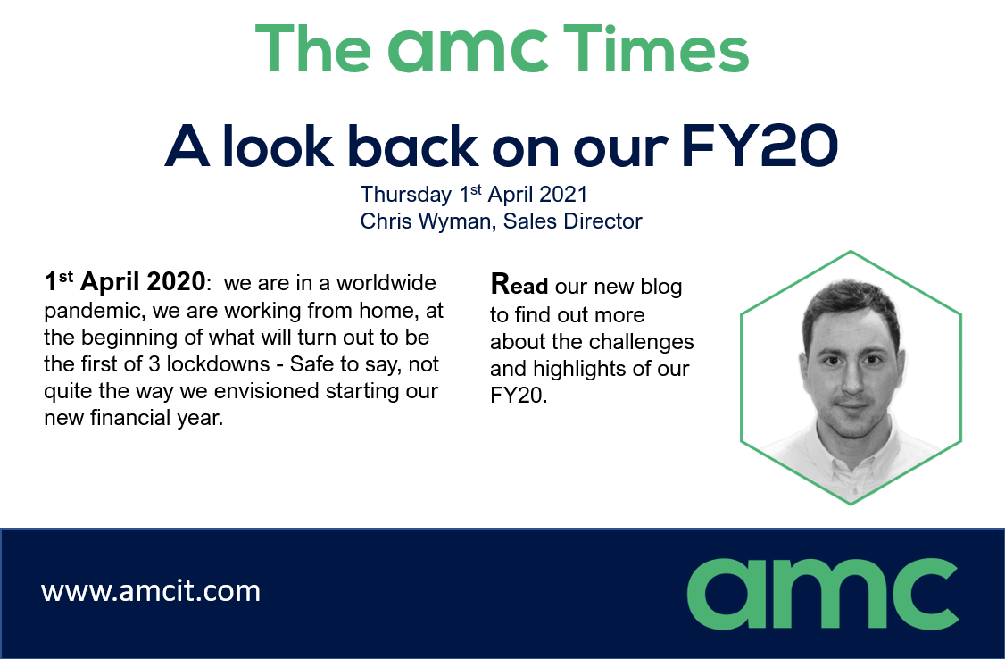 A look back on our FY20